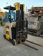 3500 Crown 36v Electric Forklift W/226 Lift 35rctt-s No Battery