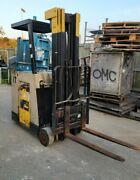 3,500 Crown 36v Electric Forklift W/226 Lift, 35rctt-s, No Battery