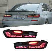 Led Tail Lights For Bmw 3 Series G20 19-20 Sequential Signal Smoke Replace Oem