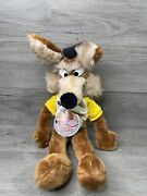 1971 Wile E Coyote 20 Plush Mighty Star Warner Bros Vintage Authentic 📝