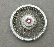 1960and039s 1970and039s Oldsmobile Wire Spoke Hubcaps Wheelcovers