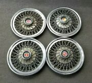 1960and039s 1970and039s Ford Wire Spoke Hubcaps Wheelcovers