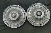 1966 66 American Motors Company Amc 14 14 Inch Hubcaps Wheelcovers