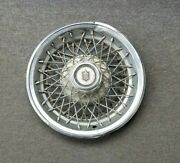 1970and039s 1980and039s Chevy Chevrolet Monte Carlo Wire Spoke Hubcap Wheelcover
