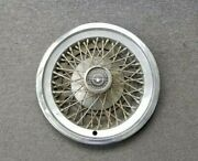 1970and039s 1980and039s Ford Thunderbird Wire Spoke Hubcap Wheelcover