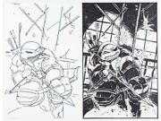 From Eastmanand039s Collection Tmnt Urban Legends 13 Cover Original Art Idw 2019