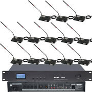 Micwl 50 Table Digital Conference Wired Microphone System 50 Gooseneck Mic A351m