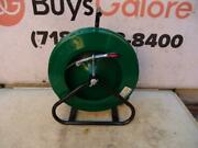 Greenlee 542-200 200and039 X 3/16 Fiberglass Fish Tape In Reel Stand