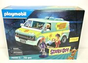 Playmobil 70286 Scooby-doo Mystery Machine With Fred Daphne And Velma Figures
