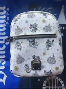 Disney Parks 2020 Dooney And Bourke Christmas Holiday Backpack Bag In Hand Nwt