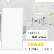 2pack 2x4ft Led Panel Light Surface Mount/drop Ceiling Fixtures Super Bright 75w
