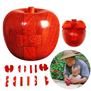 Puzzle Accessories Luban Lock Apple Lock 3d Wooden Puzzles For Adults Kids