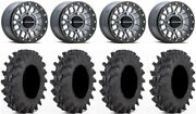 Raceline Podium Bdlk 14 Gy Wheels 32 Outback Max Tires Rzr Turbo S / Rs1