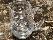 Ardbeg Scotch Whisky Water Jug Glass Awesome Rare Impossible To Find Brand New