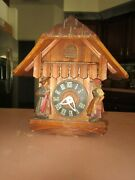 Make Your Own Bird House Doll House Miniature Coo Coo Clock Cabinet Parts Only