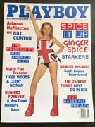 Ginger Spice Gerry Halliwell 'starkers' Vintage Playboy May 1998 Near Mint