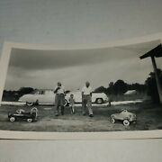 Fire Truck Chief Pedal Cars And Kid Real Photo Vintage 1950s Cars