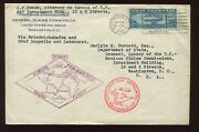 C15 Graf Zeppelin First Day Cover Apr 19 1930 To Dept Of State Lot 1141 B