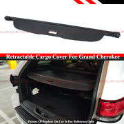 For 2011-2020 Grand Cherokee Retractable Trunk Cargo Cover Luggage Shade Shield