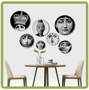 Wall Hanging Art Craft Dishes Nordic Home Studio Hotel Decorative Vintage Plates