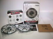 Wet Sounds 2 Ohm Revo Cx-10 Xs-g-ss 10 Coaxial Speakers Pair - New Old Stock