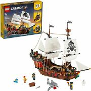 Lego 31109 Creator Pirate Ship 3-in-1 With Minifigures - New Sealed Box
