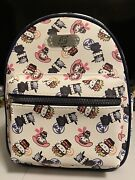 Anime Naruto Shippuden X Hello Kitty And Friends Mini Backpack And Wallet Gift Set
