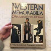 Western Memorabilia Collectibles Of The Old West, Hardback, First Edition 1980