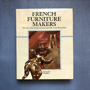 Rare - French Furniture Makers Art Of Ebeniste From Louis Xiv Antique France