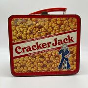 1979 Vintage Aladdin Cracker Jack 3-d Metal Lunch Box Without Thermos