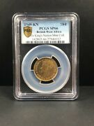 1949 Kn British West Africa Proof Shilling Pcgs Sp 66