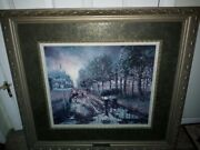 Stunning Sandra Rast Well Known Lds Artist - Limited Edition Signed And Numbered