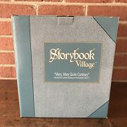 """Dept 56 Storybook Village Tea Set """"mary, Mary Quite Contrary"""" In Box"""