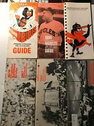 Baltimore Orioles Media Guides - 55 Years - From1964 - 2018 Exmt
