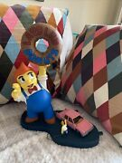 The Simpsons Lard Lad And Homer Simpson - Mcfarlane Toys - 2007 Release - Rare