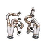 Cxracing Twin Turbo Manifold Headers For 94-04 Chevrolet S-10 S10 Ls1 Lsx Engine