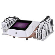 Fat Loss 650nm Laser 14 Pads Cellulite Removal Lipo Body Slimming Beauty Machine