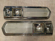 1966 Plymouth Sport Fury Left And Right Tail Light Housings