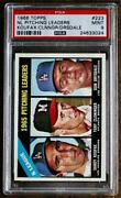 1966 Topps 223 Nl Pitching Leaders Psa 9 Awesome Tough Koufax Nice