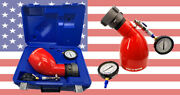 2-1/2 Nst Fire Hydrant Diffuser 2-100psi 1680gpm Dual Read Gauges In Case