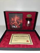 """True Blood The Complete Fourth Season """" Jar Of Bon Temps Moonlight """" Collection"""