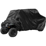 Universal Deluxe Waterproof Utv Quad 6x6 4x4 Cover Black Fits Up To 160 L