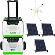 Natureand039s Generator Platinum We System 1800w + Solar And Wind Powered + Power Pod