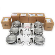 Piston And Ring Set Andphi84.51mm Fit For Audi A4 S4 A5 S5 A6 A7 A8 S8 Q7 3.0t Cre Cre