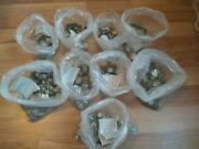 Huge Nos Vintage Glass Watch Crystal Lot - 2900 Pieces