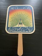 Vintage Advertising Hand Fan Putnam Fadeless Dyes And Tints The Charm Of Color