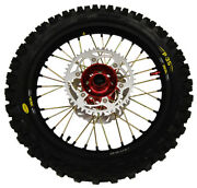 Honda Complete Wheel Set, Front And Rear, Cr-250 Crf250, Crf450 18 Rear