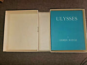 Ulysses - James Joyce - 1922 - First Edition Library - Clamshell - Easton