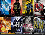 Maximum Ride Series Paperback Collection Set 1-8 By James Patterson Brand New