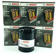 Lot Of 6 New Genuine Bosch 3400 Premium Spin-on Engine Oil Filters Free Shipping